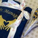 Индивидуальная вышивка на махровом халате